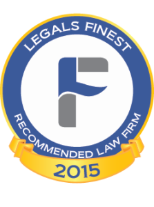LegalsFinest Recommended Law Firm logo 2015