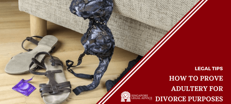 """Featured image for the """"How to Prove Adultery for Divorce Purposes"""" article. It features lingerie hanging off the edge of a bed, and a pair of sandals and an empty condom packet strewn about on the floor."""