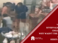 "Featured image for the ""Rivervale Crescent Child Assault: Why Wasn't the Attacker Arrested? Here's Our Take."" article. It features a screenshot of CCTV footage of the alleged offender and victim."
