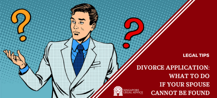 "Featured image for the ""Divorce Application: What to Do If Your Spouse Cannot be Found"" article. It features a man questioning."