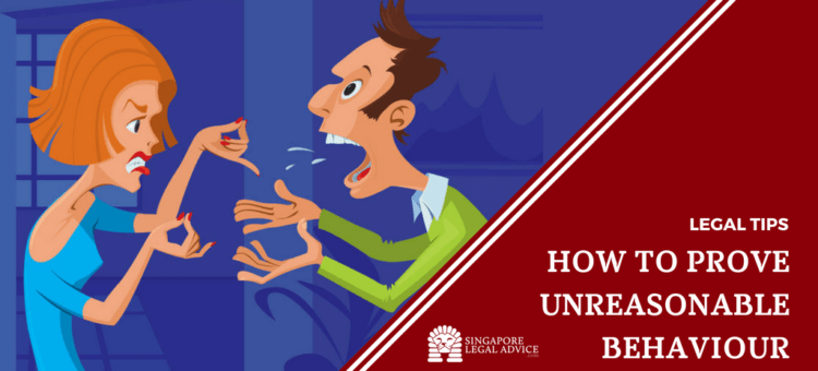 """Featured image for the """"How to Prove Unreasonable Behaviour"""" article. It features a couple arguing."""