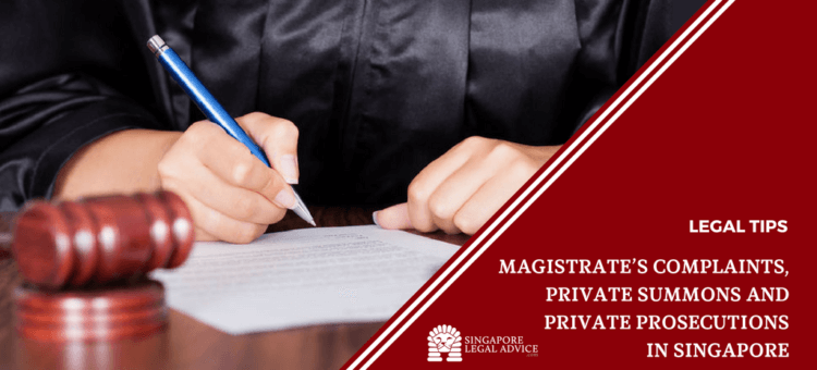 Magistrate's Complaints, Private Summons and Private