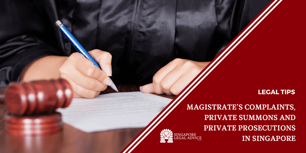 Magistrates Complaints Private Summons And Private Prosecutions In