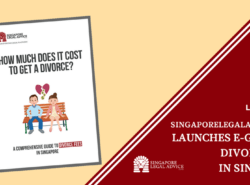"The cover of the ""How Much Does It Cost to Get a Divorce? A Comprehensive Guide to Divorce Fees in Singapore"" divorce fee guide by SingaporeLegalAdvice.com."