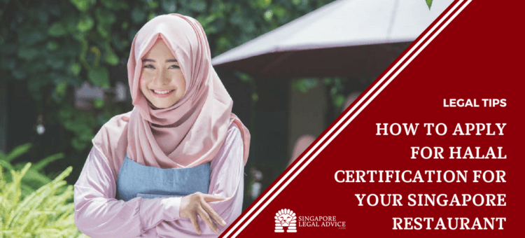 "Featured image for the ""How to Apply for Halal Certification for Your Singapore Restaurant"" article. It features a muslim woman."