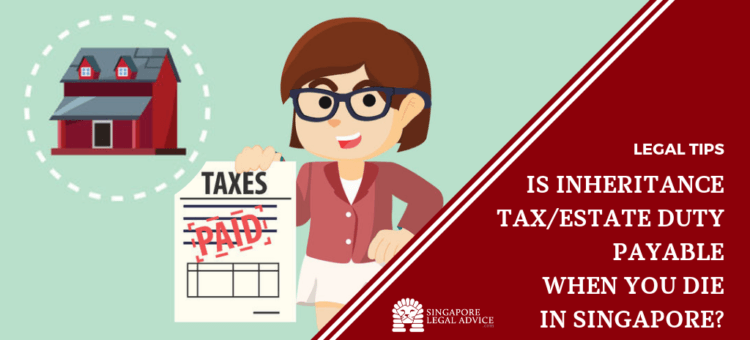 woman paid her inheritance tax.