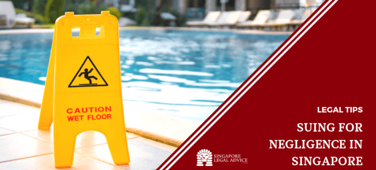 "Yellow ""Caution: Wet Floor"" sign in front of a hotel swimming pool"