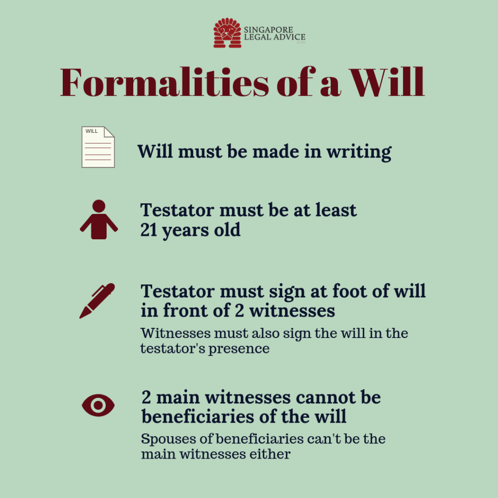 wording of a will examples