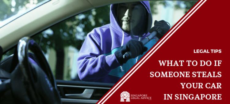 a person stealing a car.