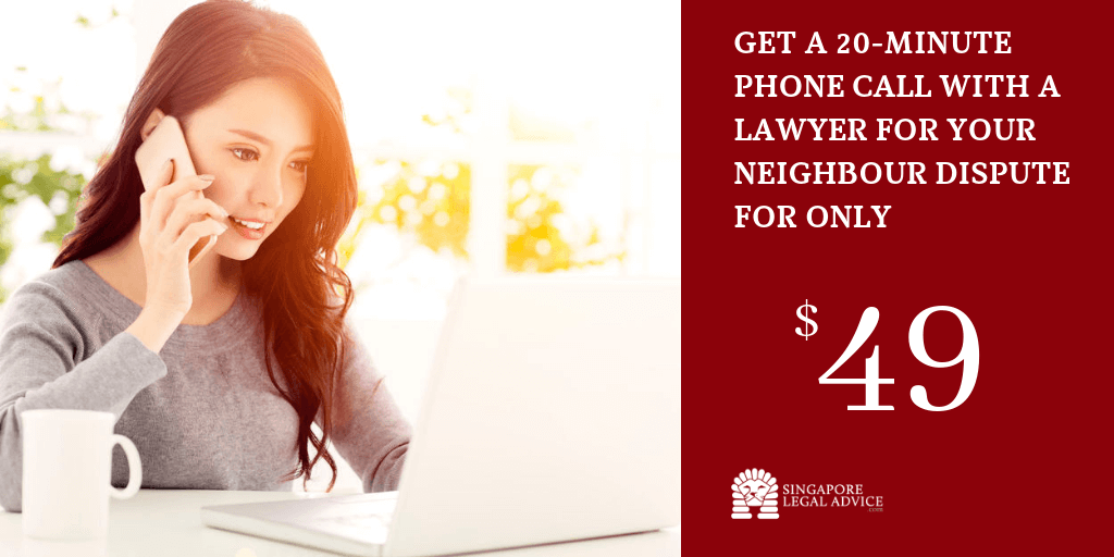 Get a 20-minute phone call with a lawyer for your neighbour dispute for only $49