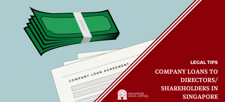 Stack of cash and Company Loan Agreement