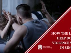 man resorting to violence on woman.