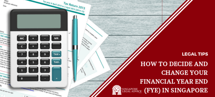 calculator and financial documents.