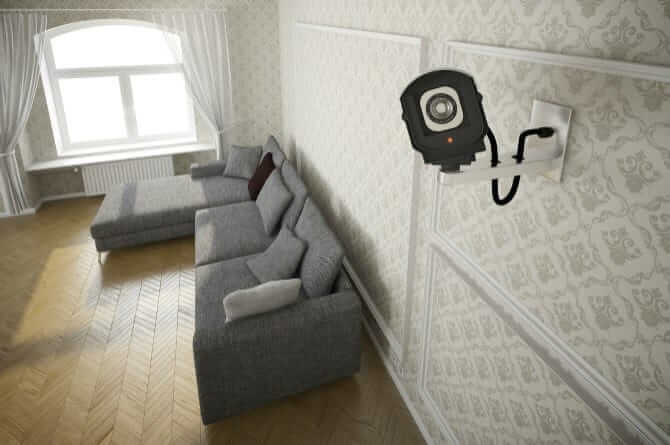 CCTV in a house
