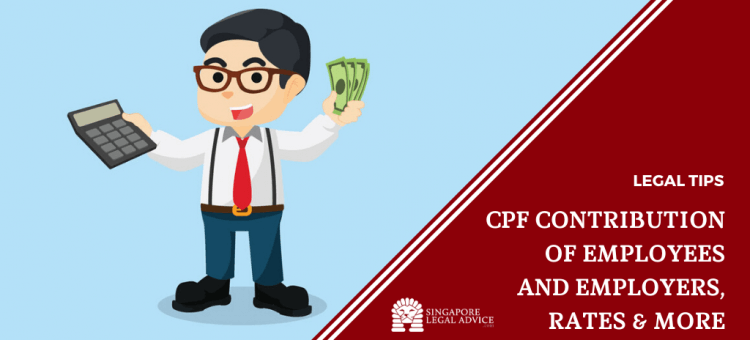 employer holding cpf cash and calculator