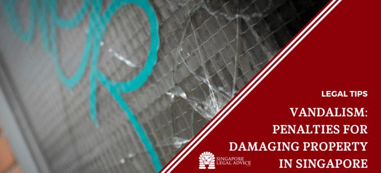 cracks and graffiti on window