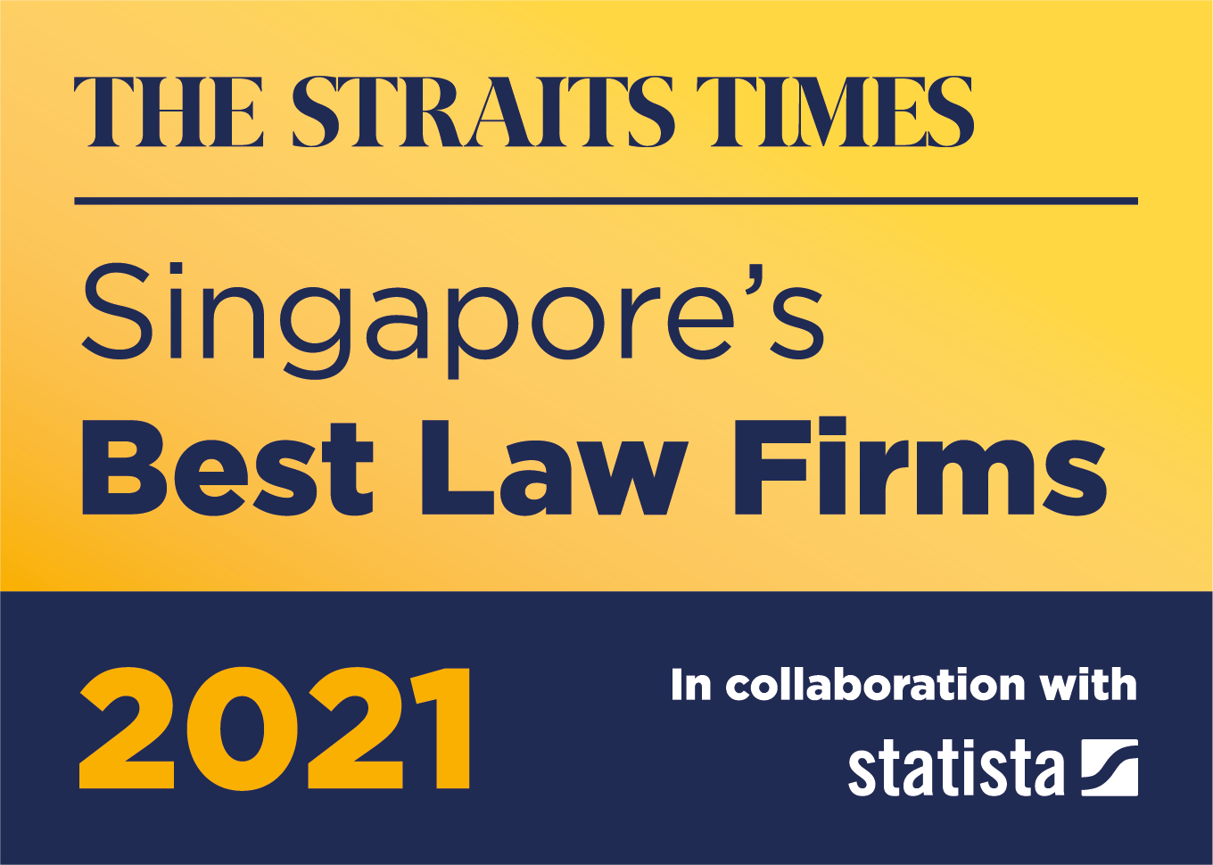 The Straits Times - Singapore's Best Law Firms 2021