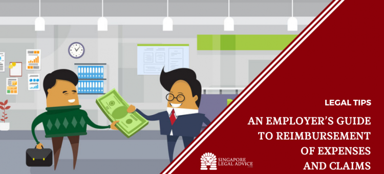 Employer giving reimbursement money to employee