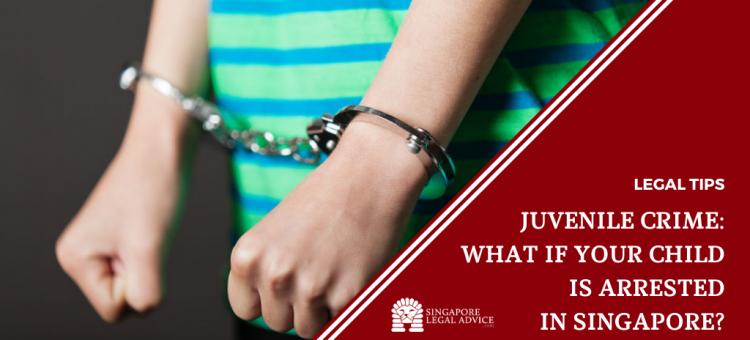 child in handcuffs