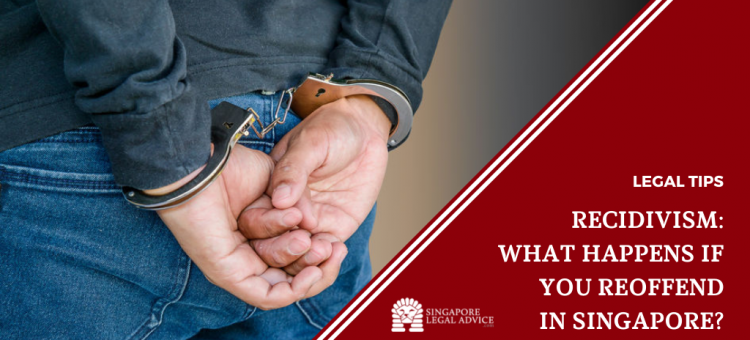 Man with his hands cuffed behind his back