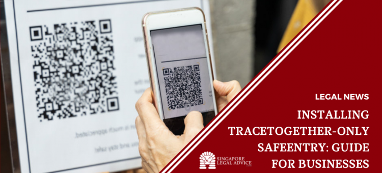 person scanning qr code